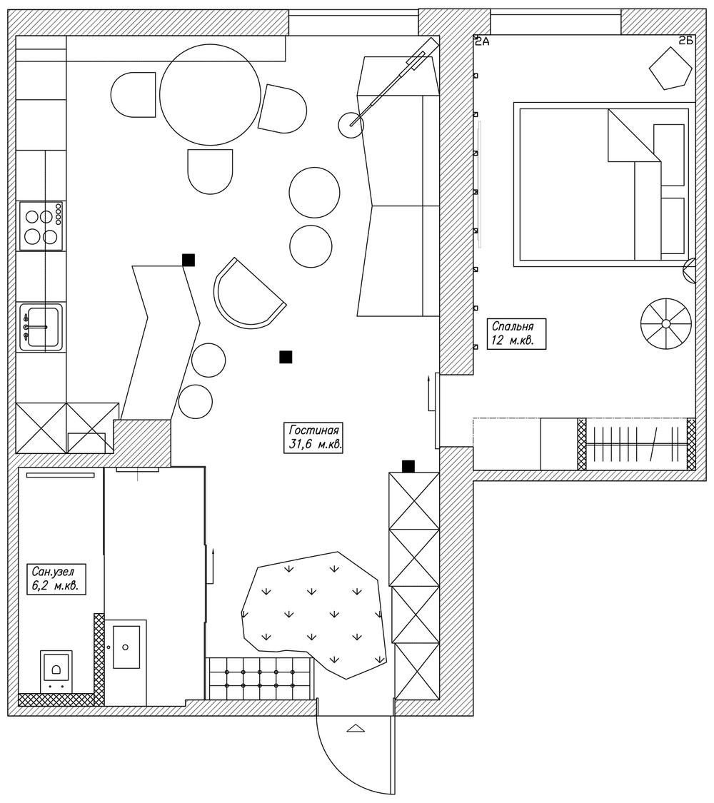Планировка маленького дома
