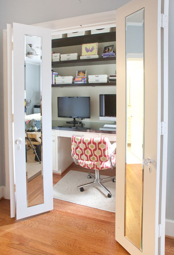 Домашний кабинет в шкафука