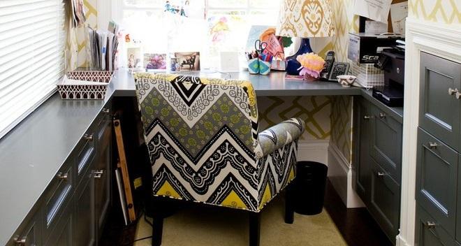 Маленький домашний кабинет от Alicia Weaver
