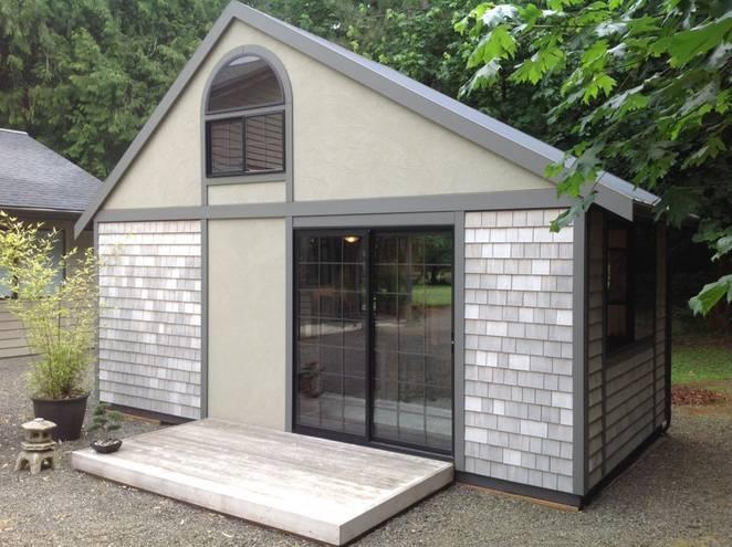 Маленький японский дом нестандартной формы