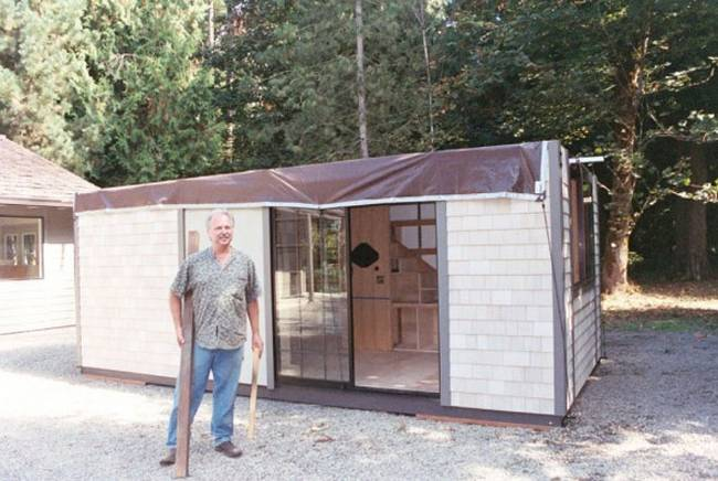 Строительство маленького японского дома
