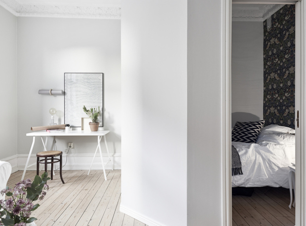 Маленькая спальня в небольшой квартире