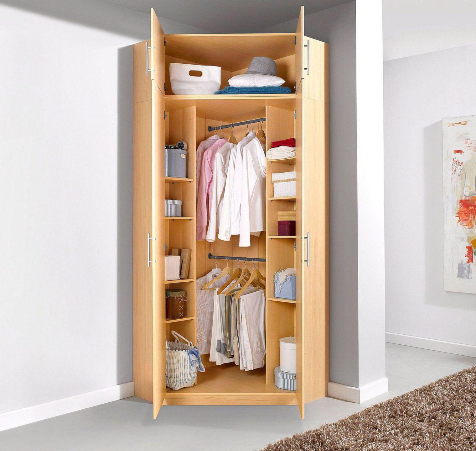 Мебель для комнаты: угловой шкаф