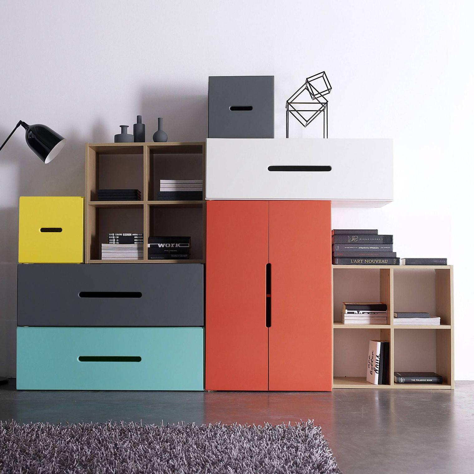 Мебель для комнаты: модульный шкаф