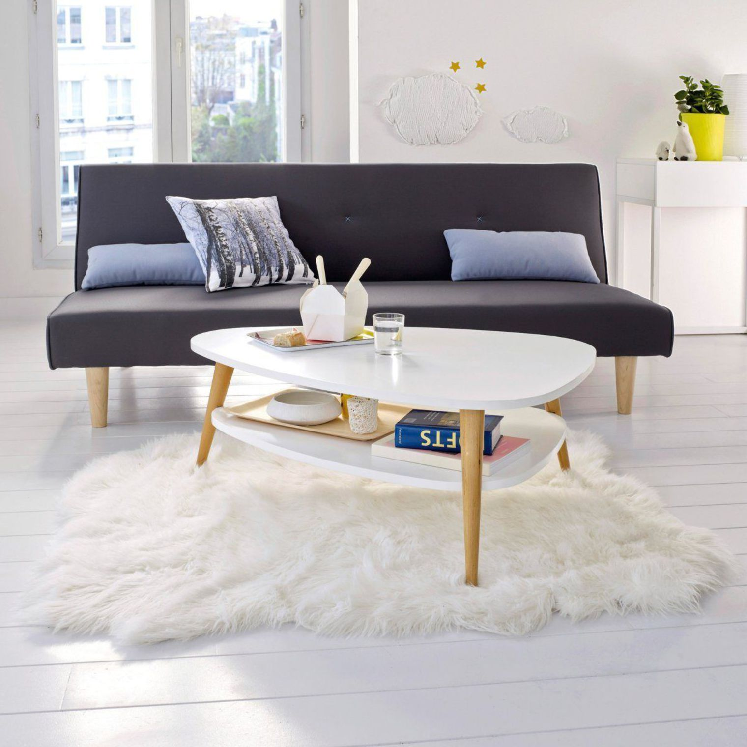 Мебель для комнаты: раздвижной диван - фото 1