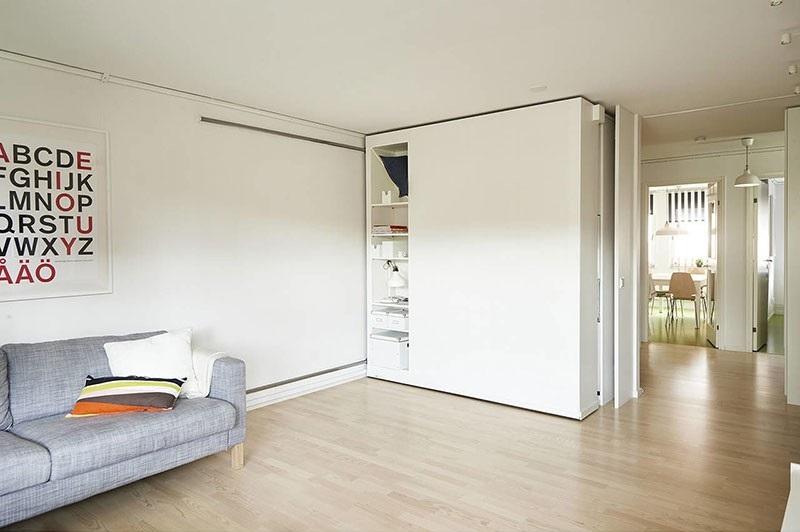 Трансформируемая мебель для маленькой квартиры