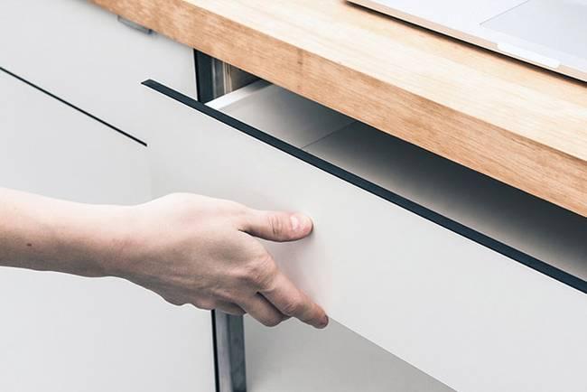 Мебель для узкой кухни - фото 4