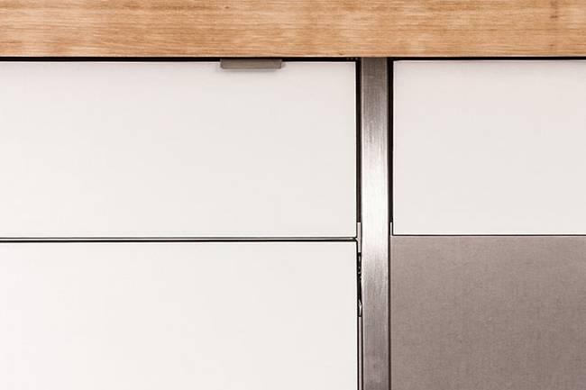 Мебель для узкой кухни - фото 3