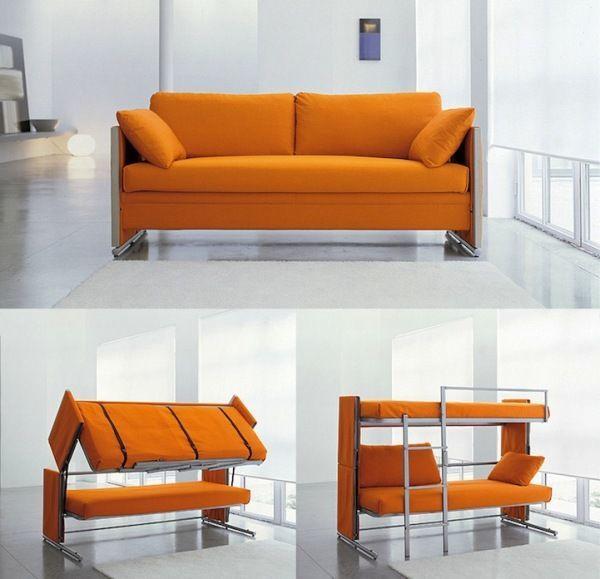 Диван-двухъярусная кровать - модель Doc Sofa Bunk Bed