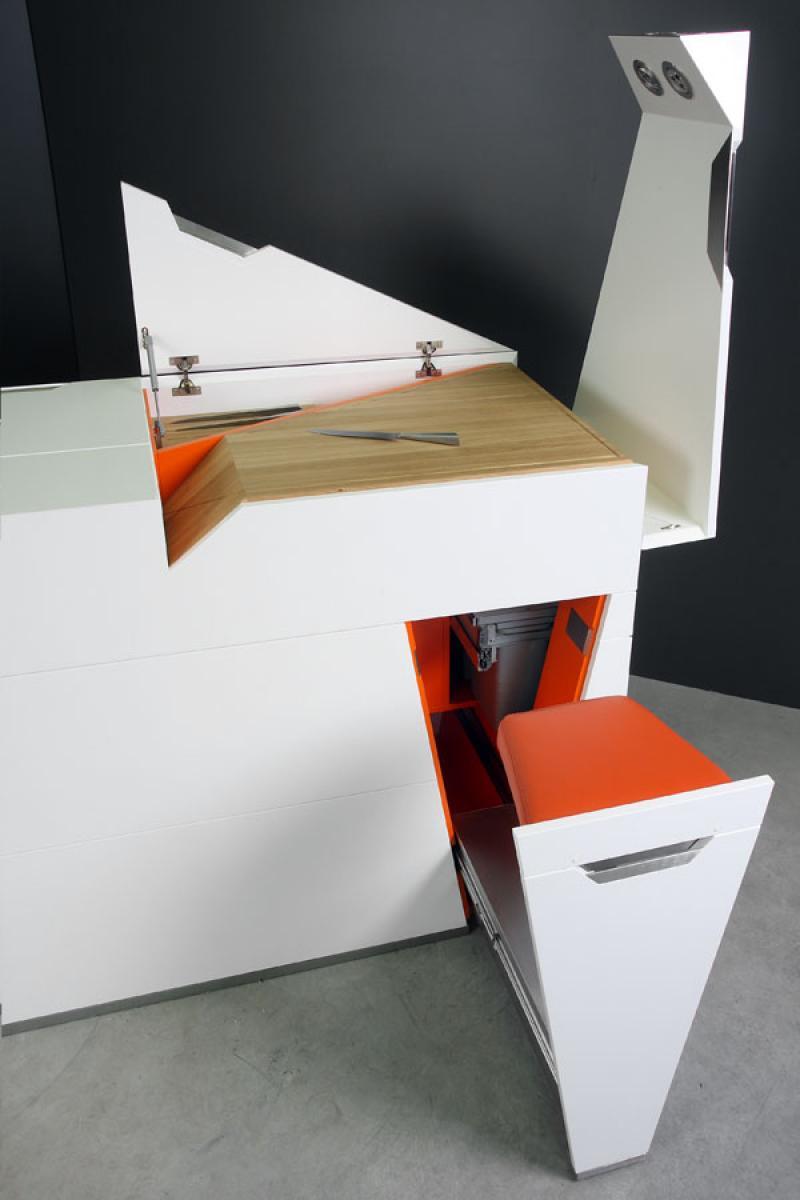 Кухонный блок Boxetti от Роландса Ландсбергса, Латвия