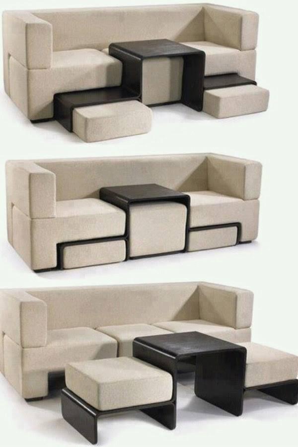 Диван-трансформер Slot Sofa от Matthew Pauk, США