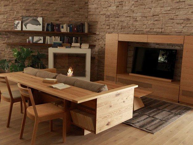 Диван-стол The Carmella Counter Sofa от мебельного дома Piano Isola, Япония