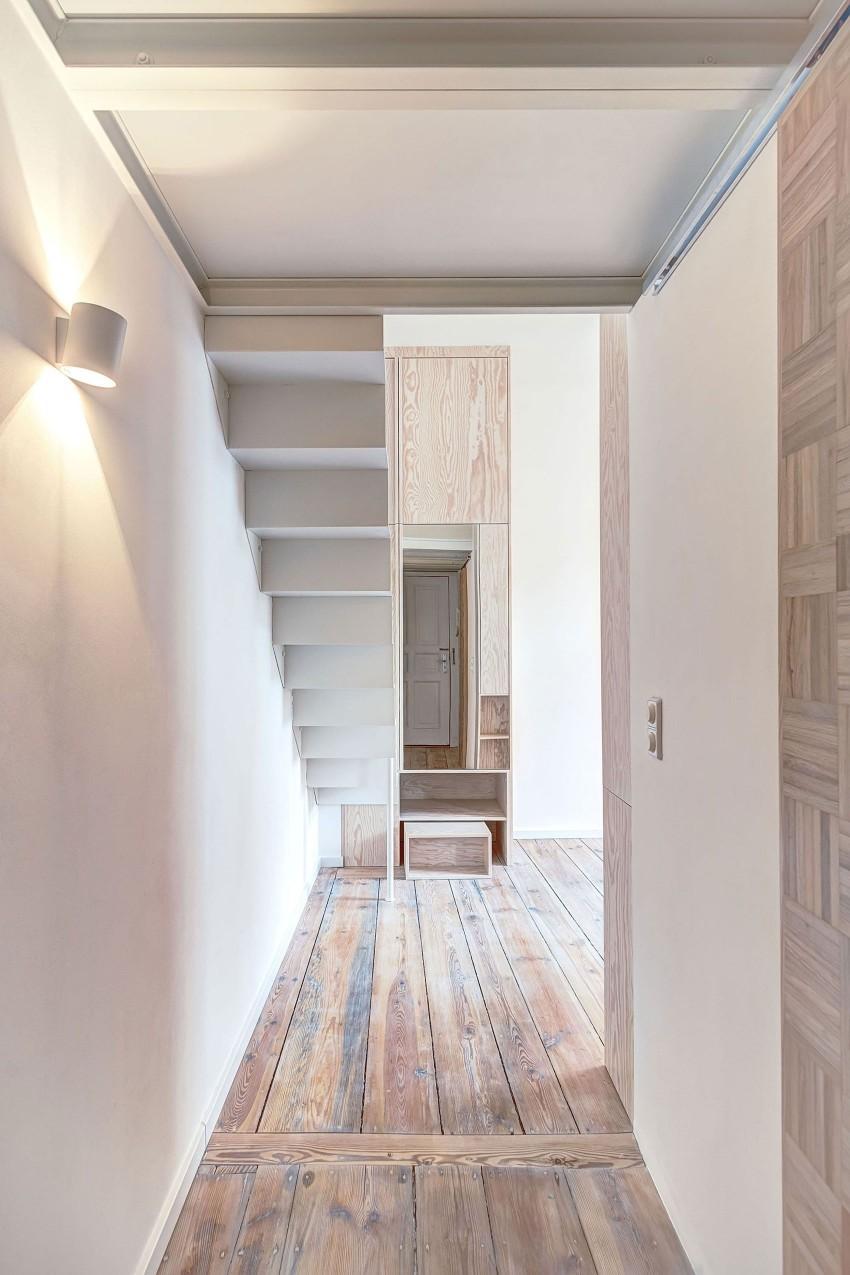 Маленькая двухуровневая квартира в Берлине