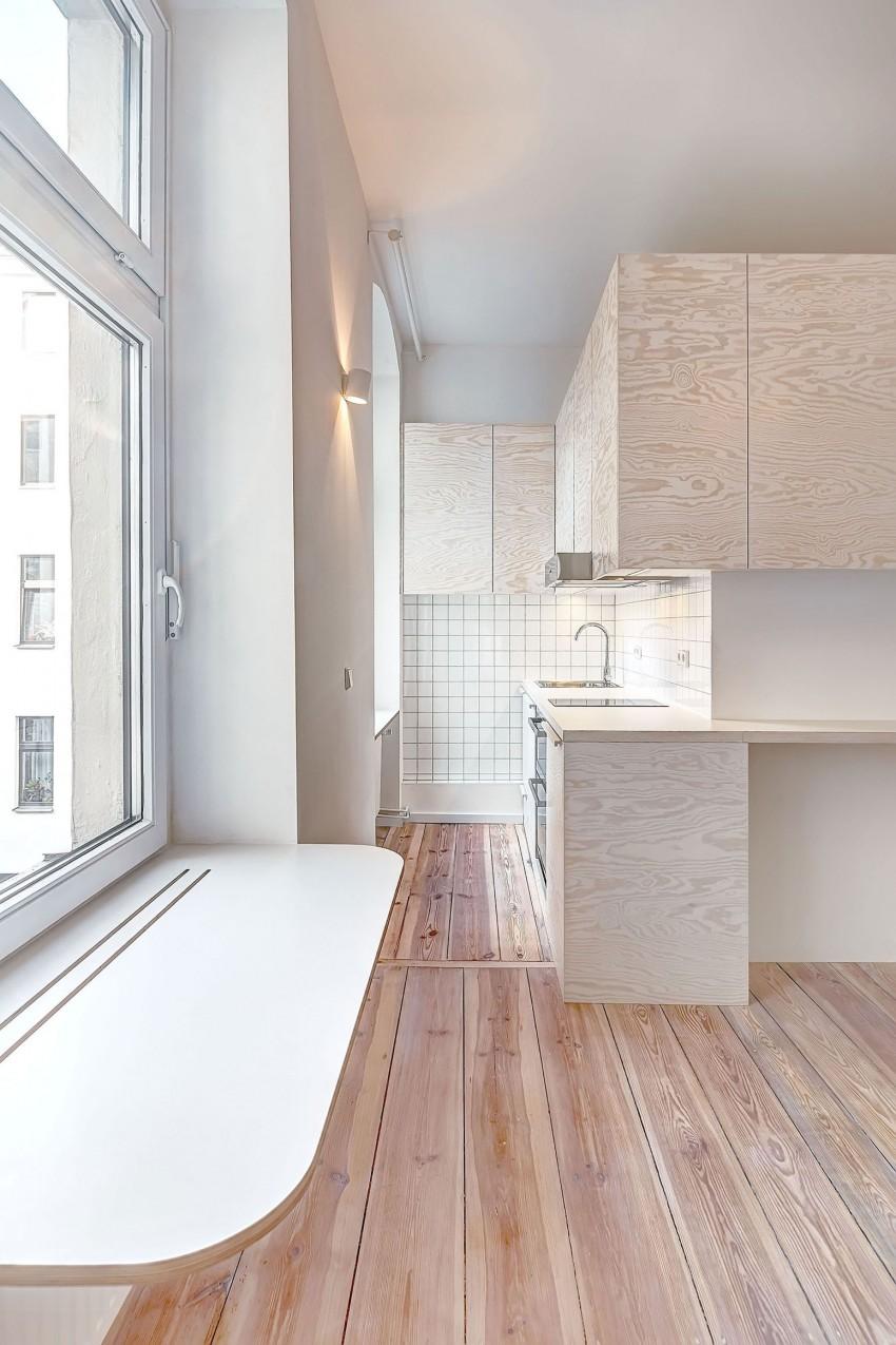 Небольшой кухонный уголок