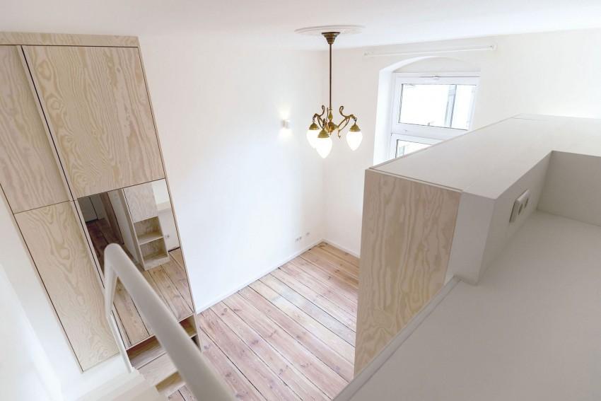 Второй уровень квартиры