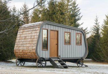 Мобильный мини-домик: фото