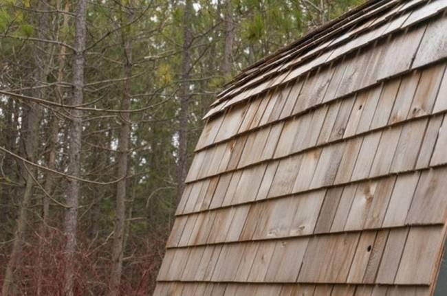 Удобный мини-домик: фото из Онтарио - крыша