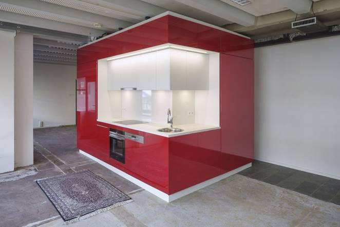 Современный дизайн мини кухни