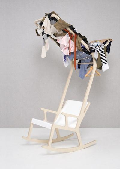 Вешалка над креслом
