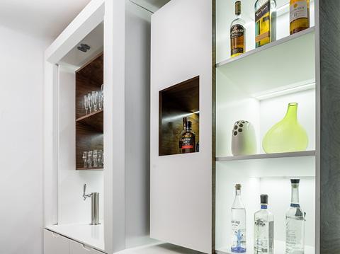 Кухонная мебель для маленькой квартиры