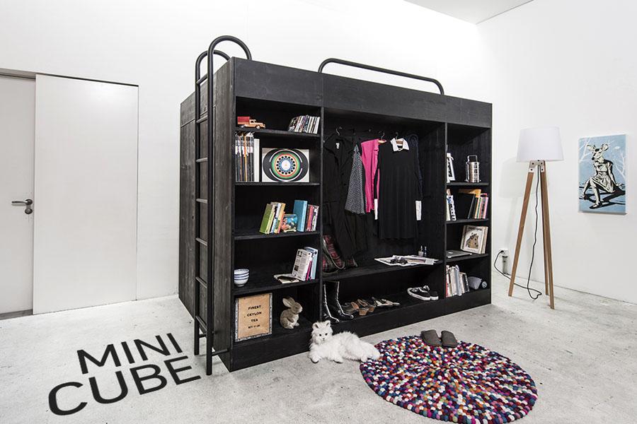 Многофункциональный модуль Living Cube от Тиля Коннекера