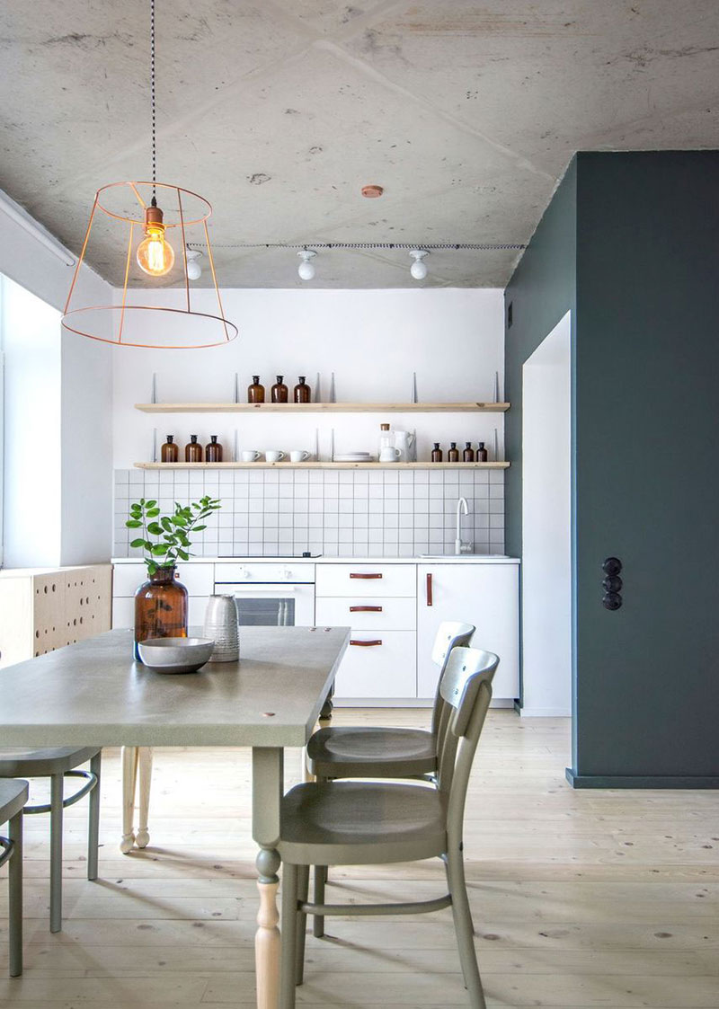 Модный интерьер кухни