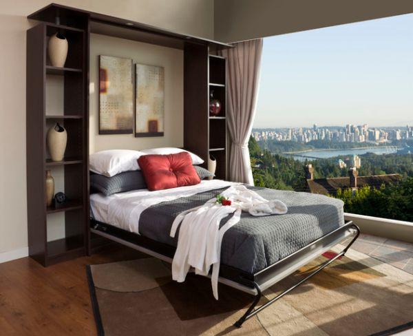 Откидная кровать в видовой спальне