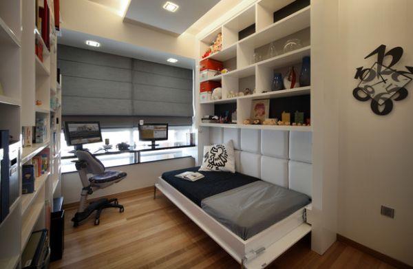 Рабочий кабинет в спальне