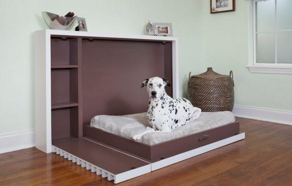 Откидная кровать для собаки