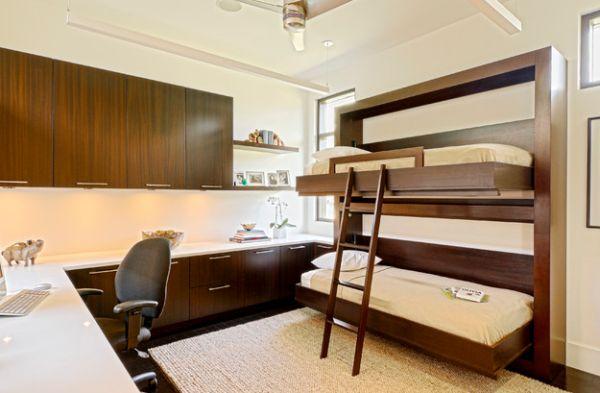 Откидные кровати в домашнем кабинете