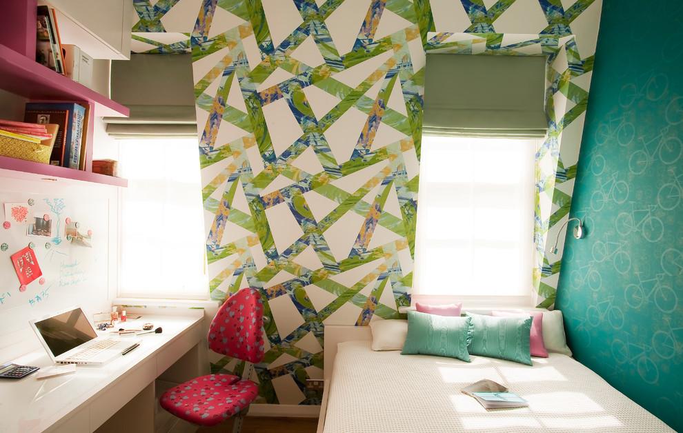Кабинет в маленькой спальне