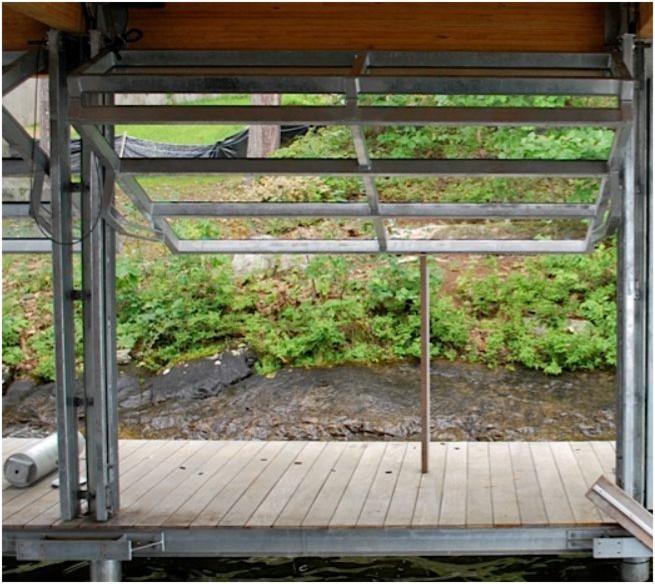 Гаражные ворота с функцией поворотно-откидного открытия