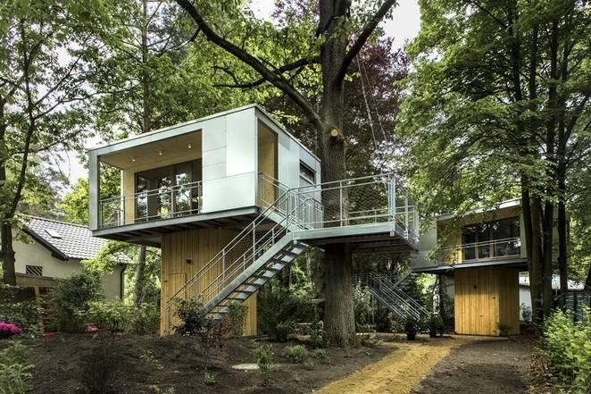 Необычный дом на дереве от Baumraum