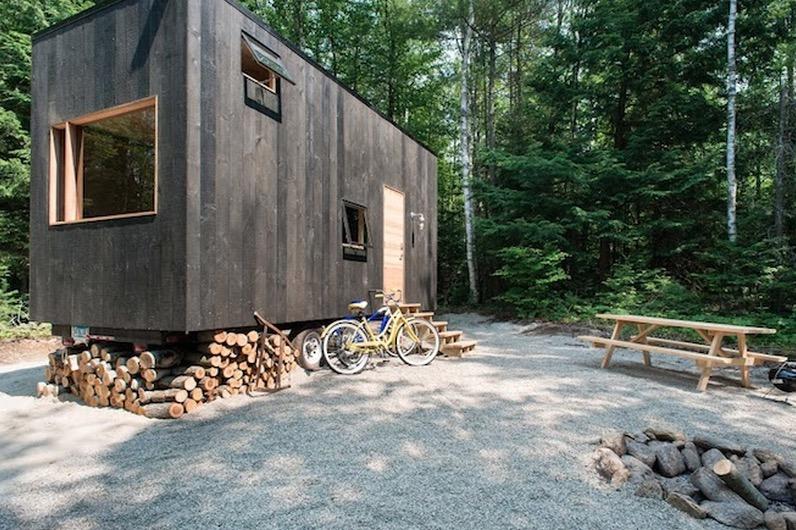 Необычный экологичный маленький дом