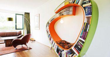 Интересные идеи хранения книг