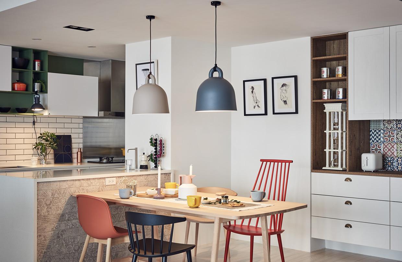 Обеденная зона в дизайне интерьера маленькой квартиры