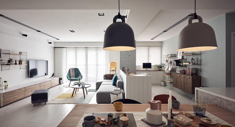 Маленькая квартира в светлых тонах