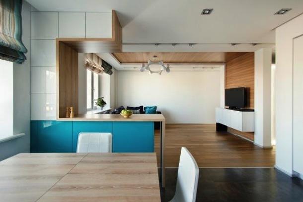 Низкие потолки на кухне