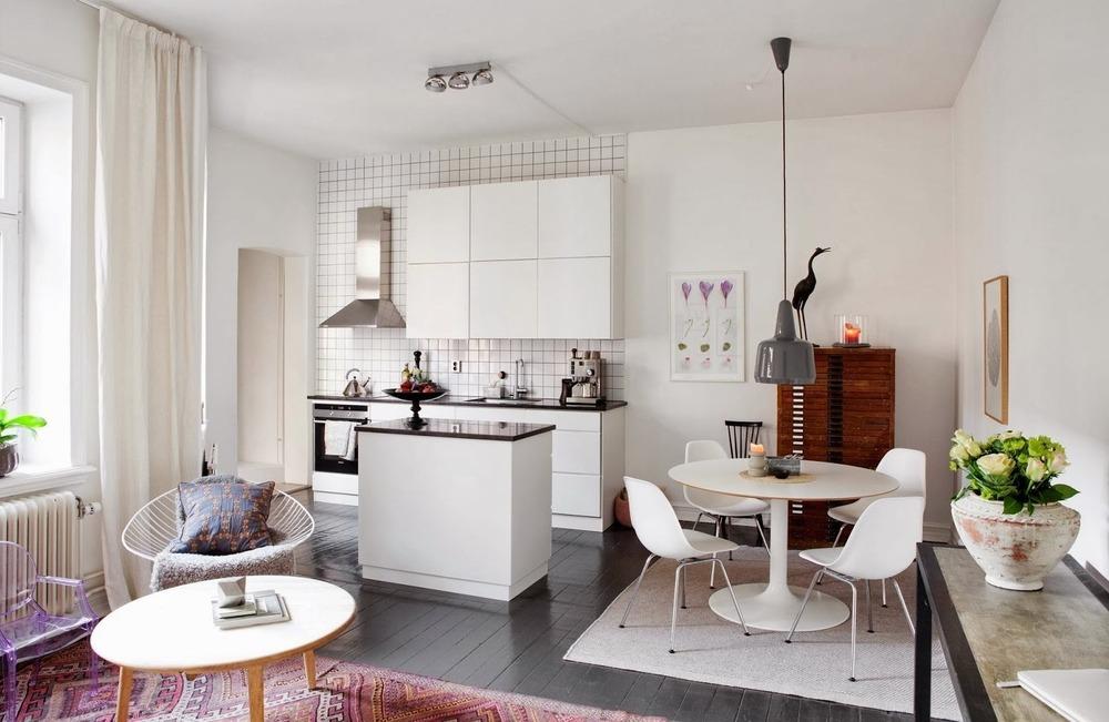 Правильное зонирование в квартире-студии