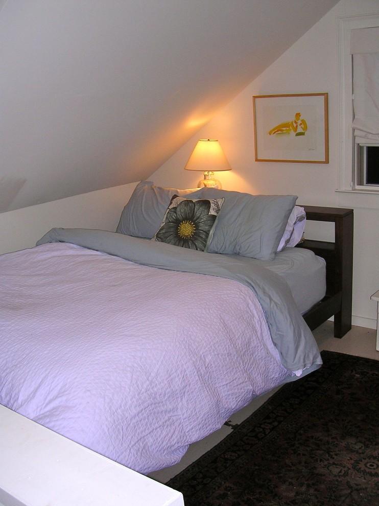 Спальня небольшого особняка в США
