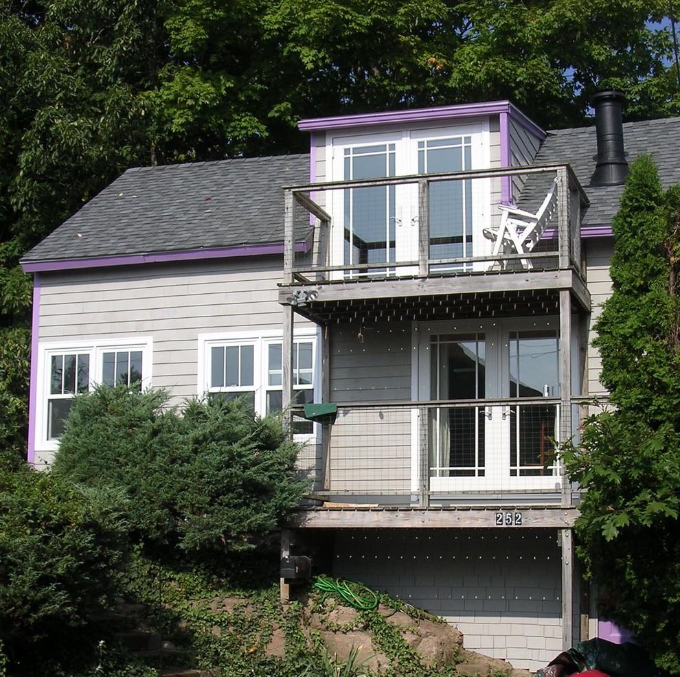 Фасад небольшого особняка в США