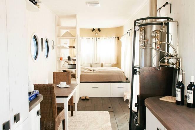 Обустройство маленького дома Wohnwagon