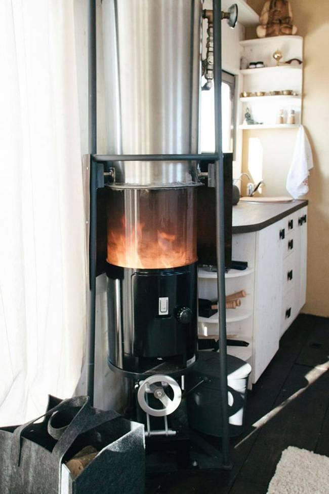 Внутреннее обустройство маленького дома: нагреватель