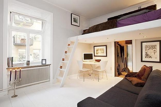 Спальня на втором уровне