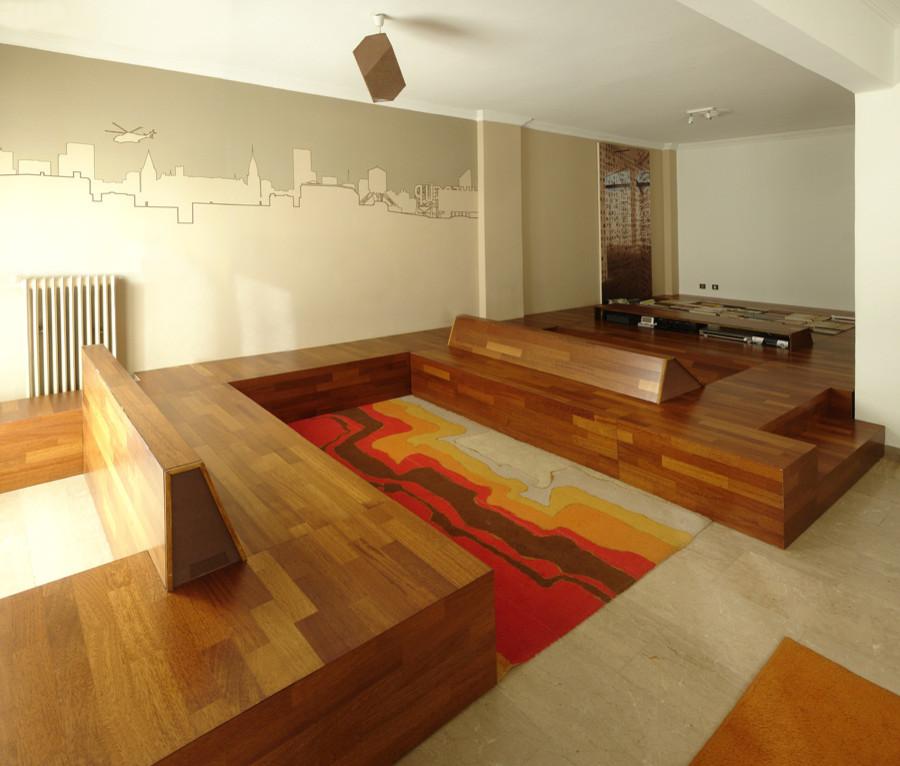 Области для сидения на полу