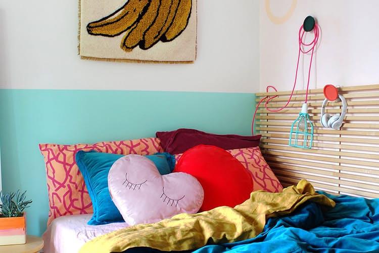 Обустройство маленькой спальни от Лайзы Тилс