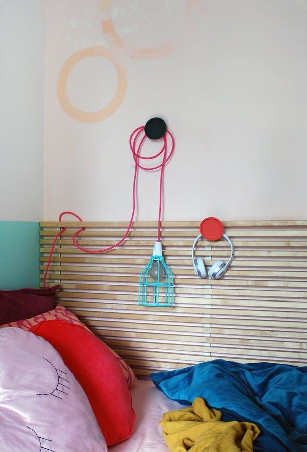Освещение в маленькой спальне для девочки