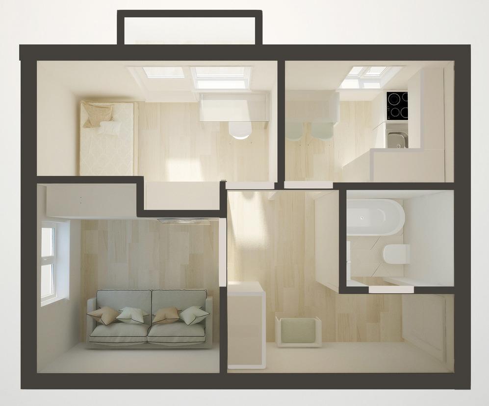 Планировка квартиры для семьи с ребёнком