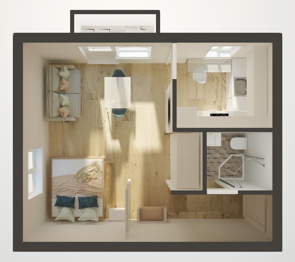 Планировка квартиры для пары