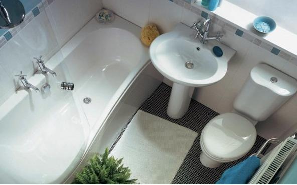 Ванна в совмещённом санузле